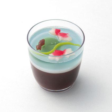 7/20〜フルーツ生水羊羹「夏祭り」の販売が始まります。